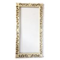 Mirror MARCELLO 180x90cm Beige paint with gold patina